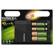 Duracell 4 uur batterijlader, 1 tel