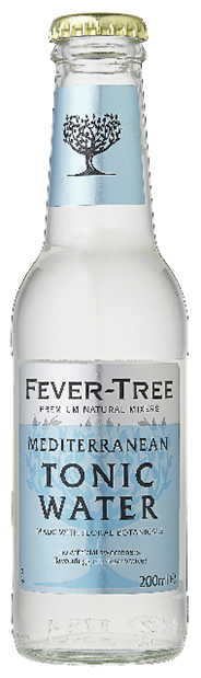 Fever-Tree Mediterranean tonic water 24 x 200 ml