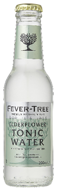 Fever-Tree Elderflower tonic water 24 x 200 ml