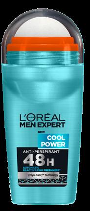 L'Oréal Paris Men Expert Deodorant Cool Power - 50ml - Deodorant Roller