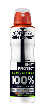 L'Oréal Paris Men Expert Deodorant Shirt Protect - 150ml - Deodorant Spray