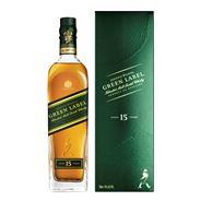 Johnnie Walker Green Label (15 jaar oud) 70 cl