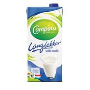 Campina Langlekker volle melk 12 x 1 liter