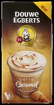 Douwe Egberts Latte caramel 8 sticks