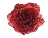 Kaemingk Roos clip polyester rood