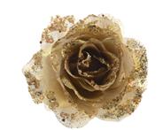 Kaemingk Roos clip polyester goud