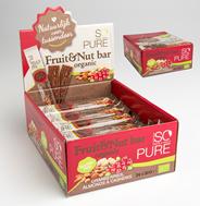 So Pure Cranberry met amandelen en cashewnoten 24 x 30 gram