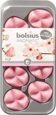 Bolsius Smeltbare geurwax Magnolia 8 stuks