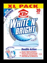 K2r White 'n' bright Vlekverwijderaar 2in1 20 stuks