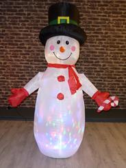 Peha Sneeuwpop opblaasbaar 180 cm buiten