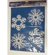 Peha Kerst raamstickers sneeuwvlokken statisch