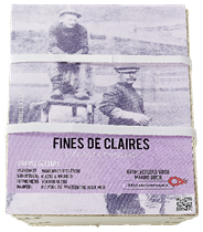 Oestercompagnie Fines de Claires Elegant & tintelend 6 oesters