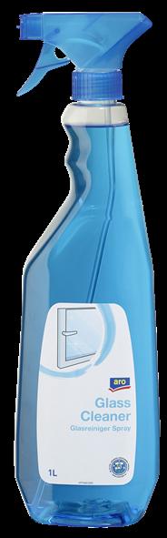 Aro Glasreiniger spray 1 liter 2 stuks