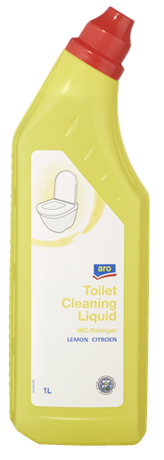 Aro WC-reiniger citroen 1 liter 2 stuks