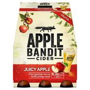 Apple Bandit Juicy Apple Cider Fles 6 x 30 cl