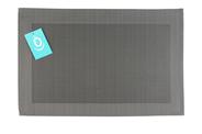Yong placemat 30 x 45 cm PP grijs