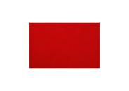 Yong placemat 30 x 45 cm lederlook rood