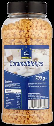Horeca Select Caramelblokjes 700 gram
