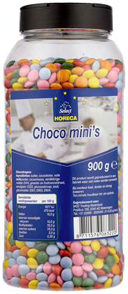 Horeca Select Chocolade mini's 900 gram