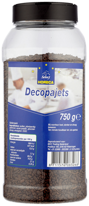 Horeca Select Decopajets 750 gram