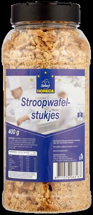 Horeca Select Stroopwafelstukjes 400 gram