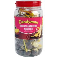 Candyman Nougat bananendip knots 50 stuks