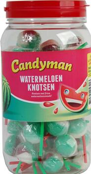 Candyman Watermeloen knots 50 stuks