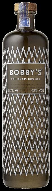 Bobby's Schiedam Dry gin 6 x 700 ml