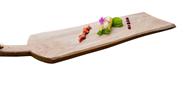 Twents Hout Food Safe Plank tapas 65 cm klein