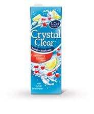 Crystal Clear Cranberry & limoen 8 x 1,5 liter