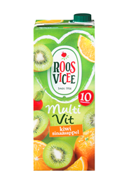 Roosvicee Multivit kiwi sinaasappel 8 x 1,5 liter
