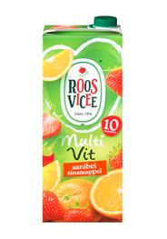 Roosvicee Multivit aardbei sinaasappel 8 x 1,5 liter