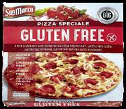 SanMarco Pizza glutenfree speciale 328 gram