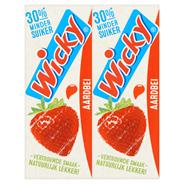 Wicky Aardbei 3 x 10 x 200 ml