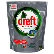 Dreft Platinum original Vaatwastabletten 40 stuks