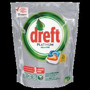 DREFT ADW PLATINUM ORANGE 40CT