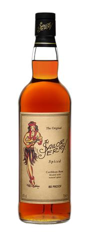 Rum spiced vanilla 40% fles 70cl