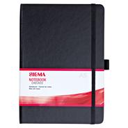 Sigma Notitieboek hardcover A5 ruitjespapier