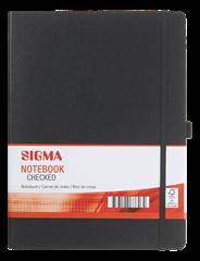 Sigma Notitieboek hardcover A4 ruitjespapier