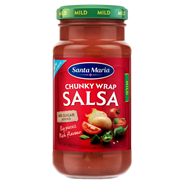 Santa Maria Chunky wrap salsa mild 230 gram