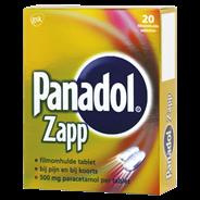 Panadol Zapp tablet 500 mg 20 stuks