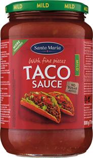 Santa Maria Taco sauce mild 800 gram