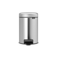 Brabantia Pedaalemmer NewIcon 3 liter matt steel