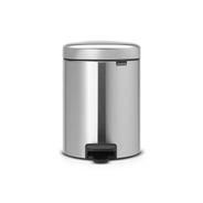 Brabantia Pedaalemmer NewIcon 5 liter matt steel