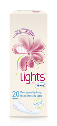 Tena Lights inlegkruisjes long 20 stuks