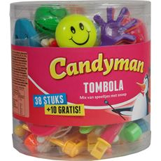 Candyman Tombola 38 stuks