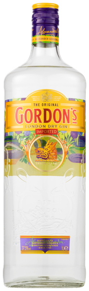 Gordon's London Dry gin 6 x 1 liter