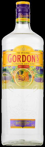 Gordon's London Dry gin 6 x 1 liter