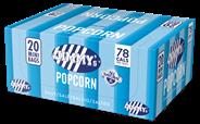 Jimmy's Popcorn Mini bag zout 20 stuks