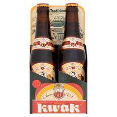 Pauwel Kwak grootverpakking 6 x 4 x 33 cl + glas